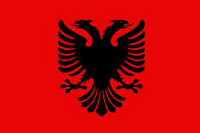 [domain] Albanija Vėliava