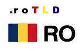 [domain] Romania domain .ro logo